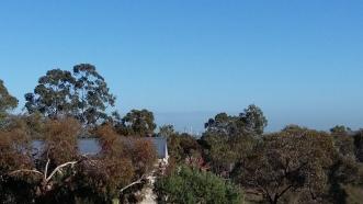 Hills location overlooking city